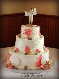 real simple wedding cakes. sea shell wedding cake by iva real simple cakes y