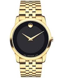 movado watches macy s movado men s swiss museum classic gold pvd stainless steel bracelet watch 40mm 0606997