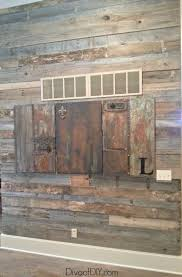 pallet wood is the perfect substitution for reclaimed barn wood this diy rustic pallet wall