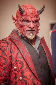 demon makeup for men