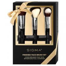 sigma finished face brush set by sigma beauty