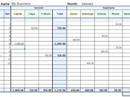 Personal Monthly Income Statement Example Of And Expenditure Excel ...