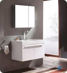 Modern Bathroom Medicine Cabinets Vista White Vanity With Cabinet For Design