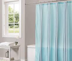 aqua monument stripe shower curtain 72 at big