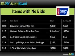 Silent Art Auction Bid Sheet Silent Auction Bid Sheets 5 Challenges How To Avoid Them