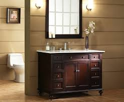 Small Picture Glenayre 48 inch Traditional Bathroom Vanity Dark Espresso Finish