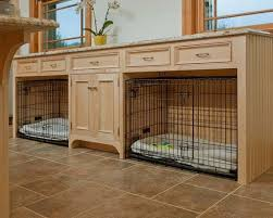 designer dog crate furniture room design plan. builtin dog crates i love this idea for a room the space above and around is utilized instead of being wasted it also more attractive designer crate furniture design plan