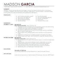 Letter Samples Delectable Cover Letter For Receptionist Delectable Receptionist Job Cover
