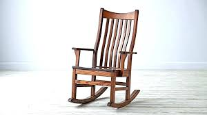 black wood rocking chair real chairs solid in decorations 3