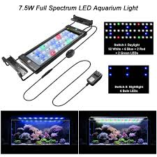 Marineland Aquarium Light Details About Aquarium Fish Tank Led Light Over Head Lamp Marineland Plants Moon Lighting