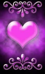 pink and purple heart backgrounds. Exellent Backgrounds Purple Heart In Pink And Backgrounds H