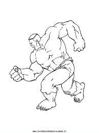 Disegni Da Colorare Hulk Az Colorare