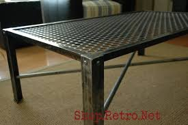 metal industrial furniture. Industrial Metal Coffee Table For Sale, Furniture - Vintageaz.blogspot.com D