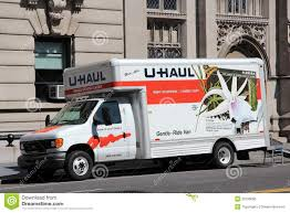 Uhaul Truck S U Haul Moving Trucks Parked In A Line Editorial Photography