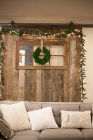how to decorate a barn door for silver and white decor holiday