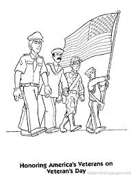 Thank You Coloring Pages For Veterans Coloring Pages Of Veterans Day