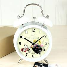 pretty erfly dial metal clock for living room twin bell alarm pretty erfly dial metal clock