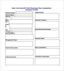 Startup Business Plan Sample Startup Business Plan Template Two Every Last Template