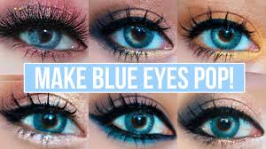5 makeup looks that make blue eyes pop blue eyes makeup tutorial