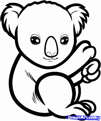 Small Picture Koala Coloring Pages Coloring Home