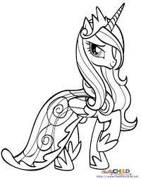 Small Picture Princess Cadence Coloring Pages Coloring Coloring Pages