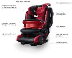recaro monza nova is child seat saphir 9 36 kg