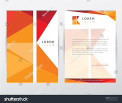 Royalty Free Brochure Cover And Letterhead Template 233833012