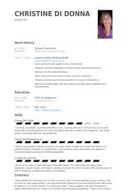 Gallery Of School Counselor Resume Samples Visualcv Resume Samples