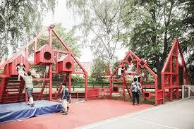 Modern Playground Design Gallery Of Village In The Schoolyard Mutopia 1