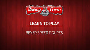 Drf Learn To Play Beyer Speed Figures