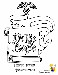 July 4th 16 we the people constitution coloring pages book for kids boys gif
