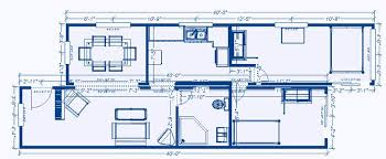 shipping container blueprints plan