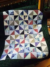 74 best My Quilts images on Pinterest | Diamonds, Triangle and Old ... & A quilt made with my dad's old shirts for my cousin Brenda Adamdwight.com