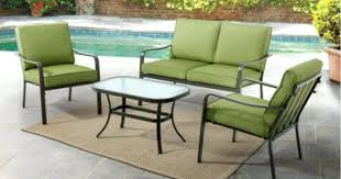 4 piece patio conversation set ptio