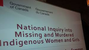 Image result for MMIWG inquiry