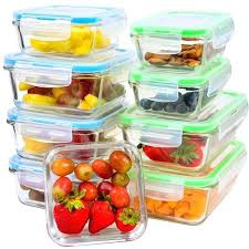 glass food storage containers with glass lids glass food storage containers 9 piece glass meal prep