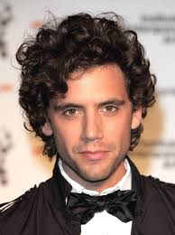 Hair Style For Men With Curly Hair mika handsome scruffy young man with curly hair hairstyles to 5366 by wearticles.com