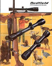 1979 Redfield Scopes Catalog Vintage Gun Catalogs