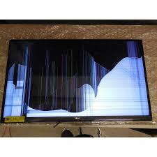 vizio tv cracked screen repair. broken led tv. lcd tv screen vizio tv cracked repair