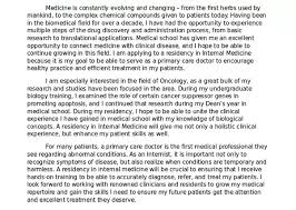 And if you want someone to help you, there are services that provide help  with internal medicine residency CV and other docs. Here is the sample of  their ...