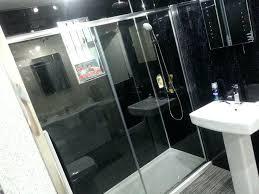 pvc bathroom wall panels black marble effect interior panels waterproof shower wall cladding plastic shower wall