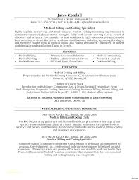 Objective For Medical Billing And Coding Resume Best of Medical Coding Resume Medical Coder Resume Sample Awesome Job