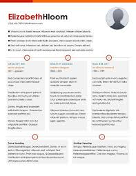 One Two Three - Resume Template