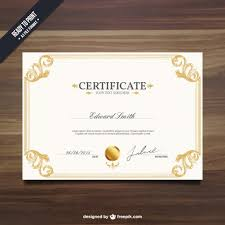 Military Certificate Templates Ornamental certificate template Vector Free Download 77