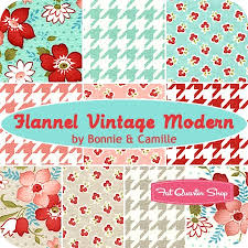41 best Flannel fabric images on Pinterest | Flannel, Flannels and ... & Flannel Vintage Modern Fat Quarter Bundle Bonnie & Camille for Moda Fabrics  - Fat Quarter Shop. / FICTILIS Rayray this is for my flannel quilt ; Adamdwight.com
