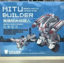Робот-<b>конструктор Xiaomi Mi</b> Bunny <b>mitu</b> Block Robot – купить в ...