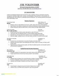 Resume Samples No Work Experience Valid Hire Car Job Resume Lovely