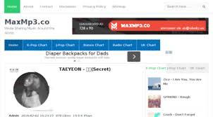 Visit Maxmp3 Co Download Kpop J Pop Us Uk Music Maxmp3 Co
