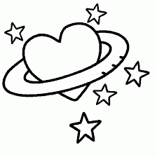 Small Picture Love Heart Coloring Pages Day coloring heart love star