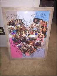 50th birthday gift ideas for female friend sgering heart shaped best friend collage cs arts and